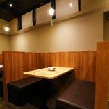 【テーブル席/2~4名様】個室感のあるBOX席は予約必須の人気席