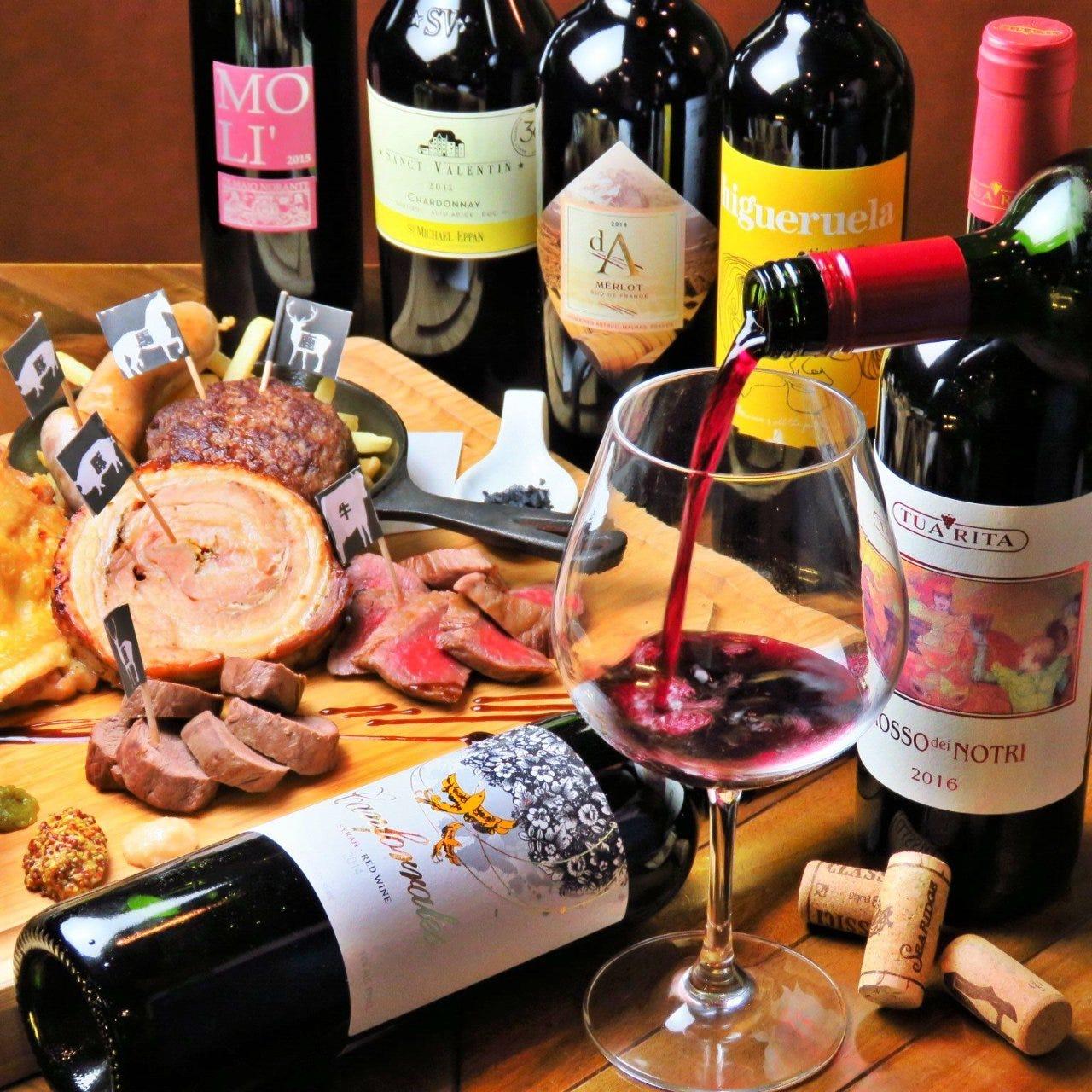 炭火とワイン Givino