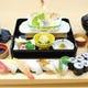 握りたての寿司と天ぷら「寿司天ぷら」1,819円(税込2,000円)