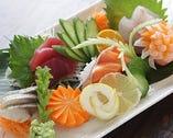 新鮮な鮮魚を毎日仕入して、お客様をお待ちしております!