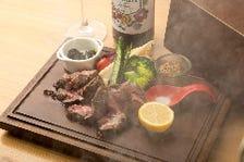 当店おすすめ肉料理!開けてビックリ玉手箱