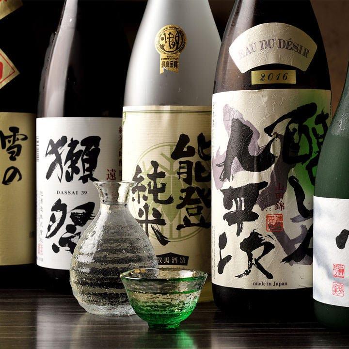 本格和食に合わせたい自慢の日本酒
