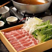 いしる出汁の豚しゃぶ【愛知県産】秀麗豚(肩ロース)