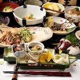 【飛沫感染対策】コースに関しましては銘々皿でのご提供も可能です