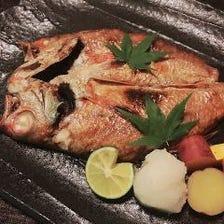 のど黒(塩焼/煮つけ)