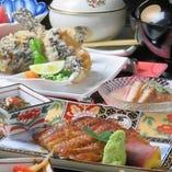 《贅沢したい日に最高の御馳走を》のどぐろ・鰻など高級魚コース全10品11000円
