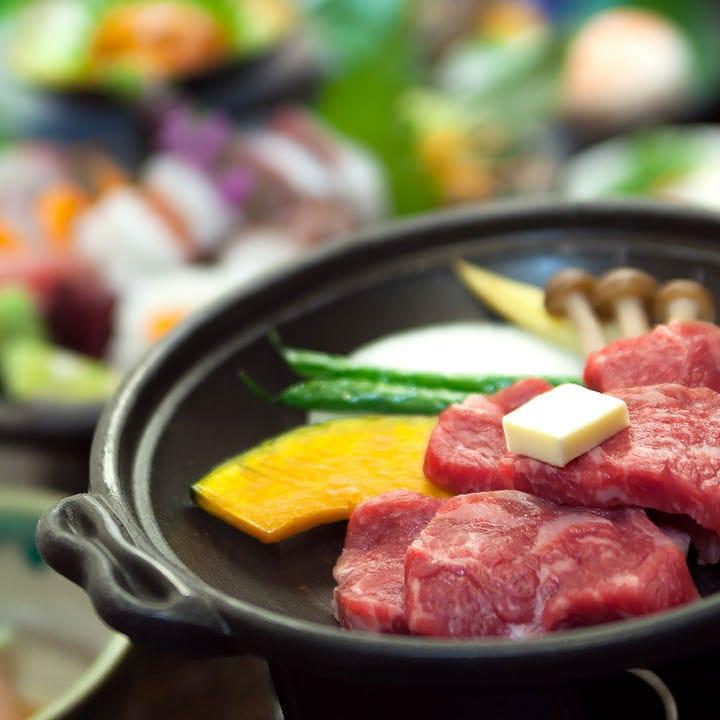 【和牛の陶板焼き付】三田食材を活かした四季折々の味『敬田 - けいでん -』