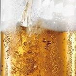 【単品飲み放題】 2時間1200円(税抜)~ご用意。生ビールもOK
