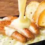 ソーセージチーズ焼き