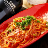 ガッツリとそしてきっちりと!パスタを〆に トマトベースのポモドーロ