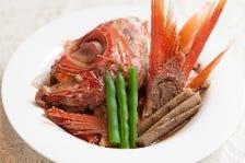 金目鯛の粗煮