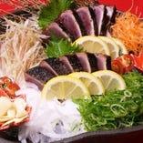 地元高知の鰹の藁焼きなどもお楽しみ下さい。