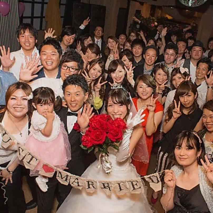 【結婚式2次会プラン】☆3時間飲み放題付き☆4,200円(税込)