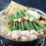 17時以降は、博多もつ鍋などのコースや単品料理もございます!