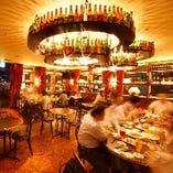 【丸テーブル席/2~18名様】ビール好きの上司を楽しませる!海外のお洒落な雰囲気