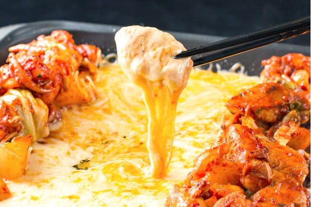 赤ちり亭特製 「チーズタッカルビ」