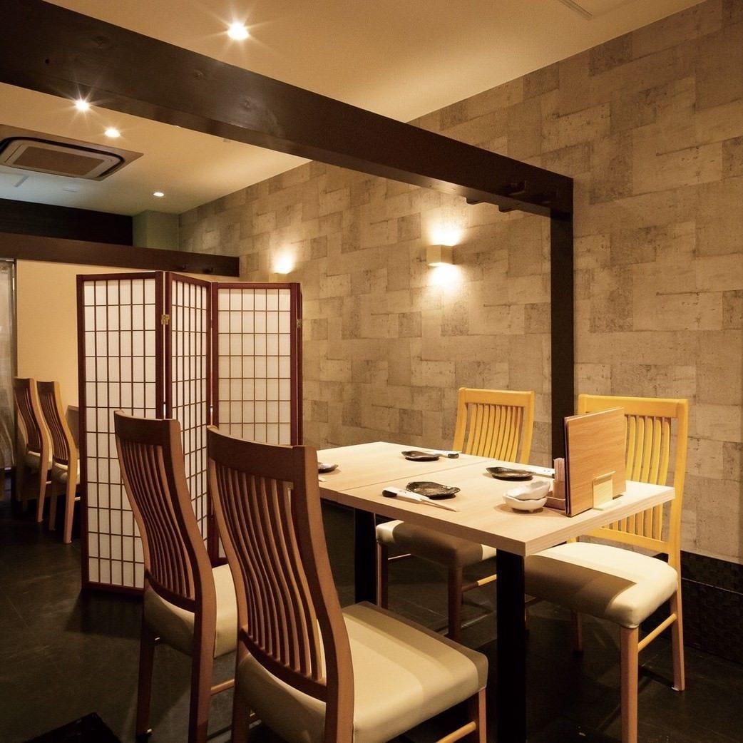 飲み会や各種宴会でご利用いただける個室もございます。