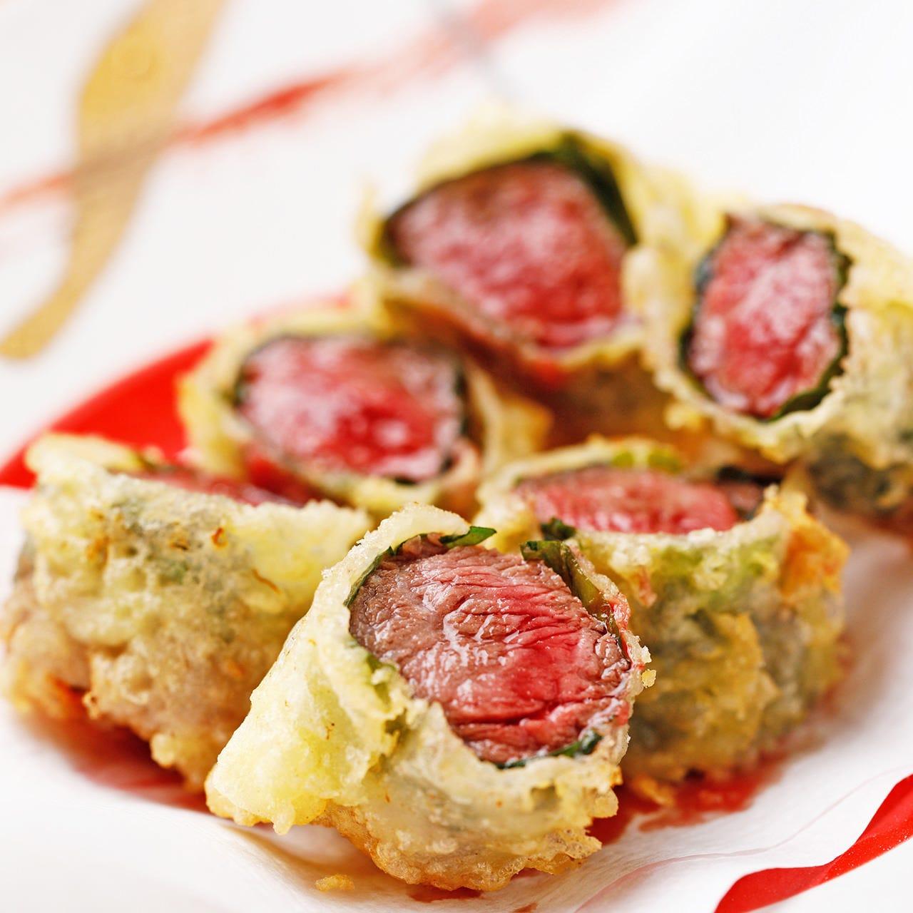 各地の厳選食材を使用した天ぷら