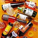 約100種類のドリンクを常時ご用意!飲めない方も楽しめます!