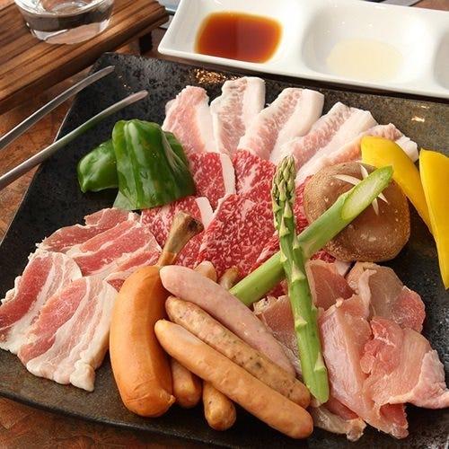 鮮度抜群なお肉が味わえます