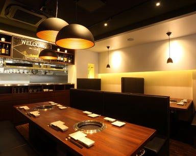 黒毛和牛焼肉×野菜ソムリエ ONAKANOMIKATA‐オナカノミカタ‐ 店内の画像