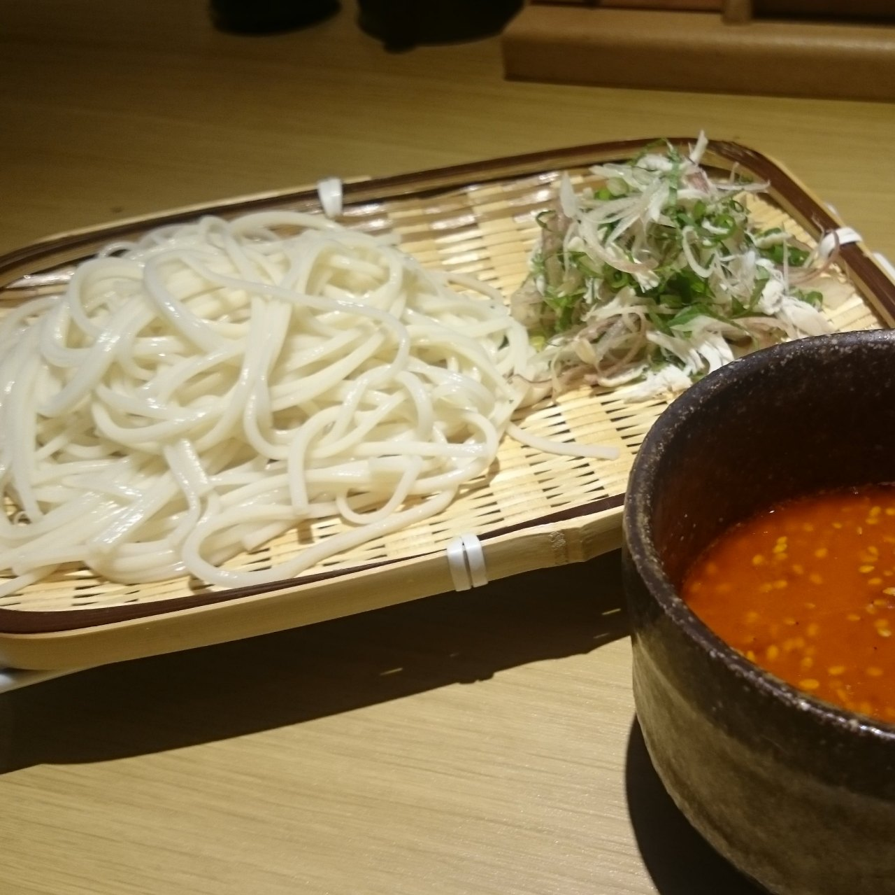 〆の逸品!!【えび味噌つけ麺】