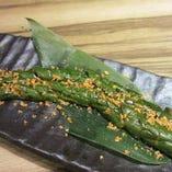 胡瓜のスタミナ醤油漬け