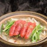博多ぶっちぎり明太もつ鍋は季節不問の人気メニュー!