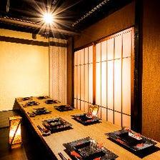 田町宴会に◎多彩な団体様個室を完備