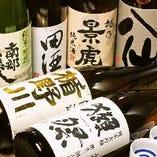 人気の『獺祭』ほか日本各地の銘酒をお取り揃え。【山口県ほか日本各地より】