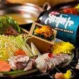 鮮度抜群!!海鮮の持つ素材の旨みをたっぷりとお楽しみください!