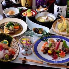 旬の素材をご堪能…至福のコース料理