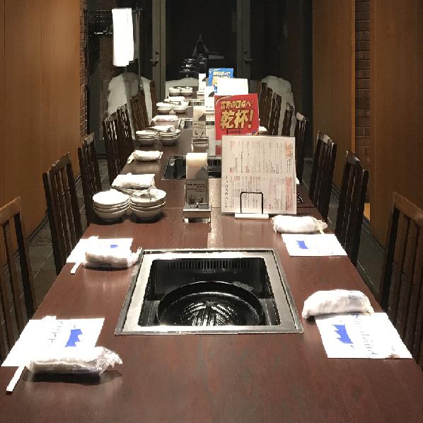 テーブル席・半個室・16名様~20名様
