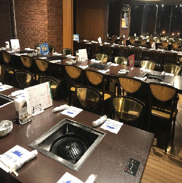 テーブル席・半個室・54名様~80名様