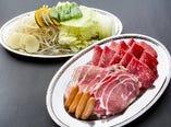 3種肉のジンギスカン食べ放題