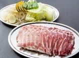 「プレミアムプランA」2種肉のジンギスカン&2種肉のしゃぶしゃぶ食べ放題