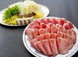 2種肉のしゃぶしゃぶ食べ放題