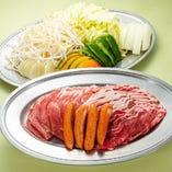 特選ラム肉・豚肉ジンギスカン食べ放題(60分)