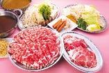 ≪送迎付≫120分食べ飲み放題 2種ジンギスカン&選べるスープしゃぶしゃぶ食べ飲み放題