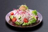 紅白大根とツナのサラダ