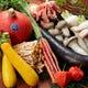 四季の食材を使ったコース料理が充実しています