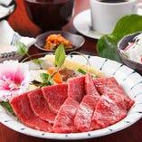 【牛旨イチオシ!!】赤身盛合せ焼肉セット