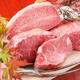 A4・A5等級の上質なお肉のみを仕入れております