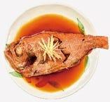 魚の煮つけは絶品!! ランチでも味わえる看板メニュー