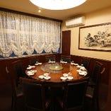 円卓テーブル席個室(2~100名様)