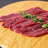 頬肉の天肉(ツラミ)は濃厚な味わい