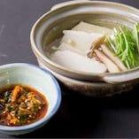 冬はもちろん夏にも食べたい、兆の湯豆腐