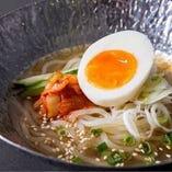 〆にぴったりな冷麺