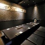 【2階:掘りごたつ個室】シックな個室で幅広い世代が集まる大人宴会を(12名様まで)