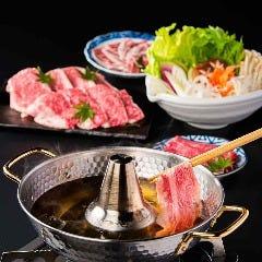 自慢のお肉も新鮮野菜も!絶品しゃぶしゃぶ食べ放題付きコース